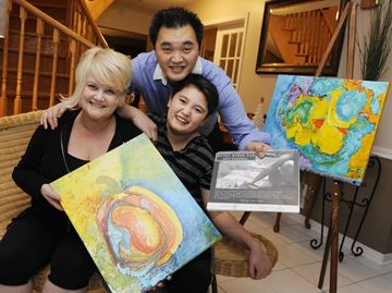 Art gives Aiden 'total freedom' from autism