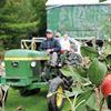 Ocala harvest festival soldiers on despite hail