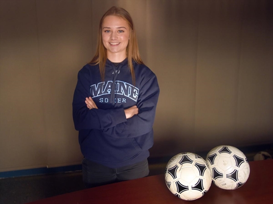 Waterloo soccer standout taking her game to Maine