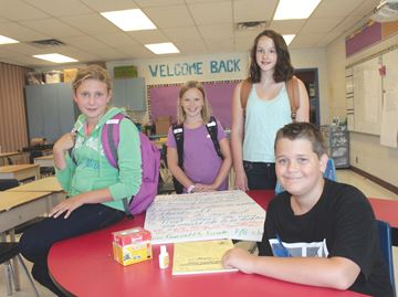 Alliston students happy to hit the books early