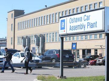 Oshawa GM plant