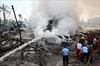 Indonesia military cargo plane crashes in Medan, dozens dead-Image1