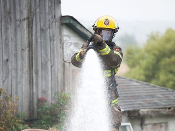 Wellesley barn fire