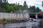 South River dam