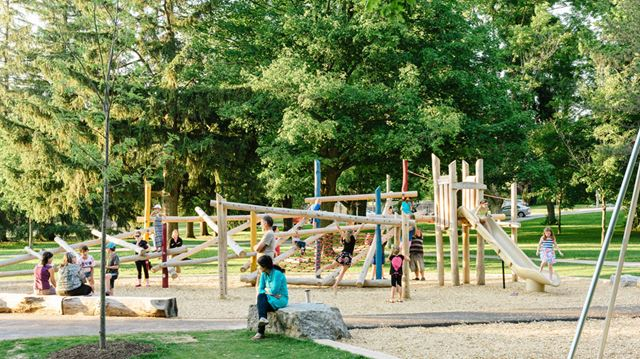 Exhibition Park Playground Earns Provincial Design Award