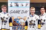 Whitby Fury captain and assistants