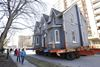 Heritage home gets moved