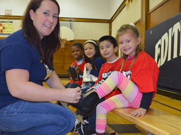 Skates for Kids at Edith Cavell
