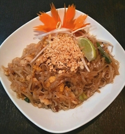 Pad Thai from Kitchener's Bangkok Cuisine.