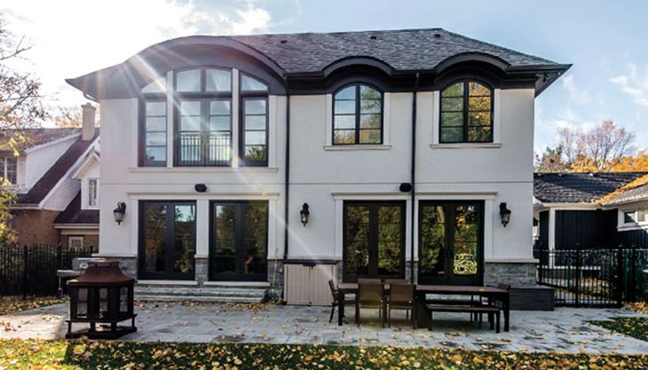 Chateau retreat in mineola for Architecture firms mississauga