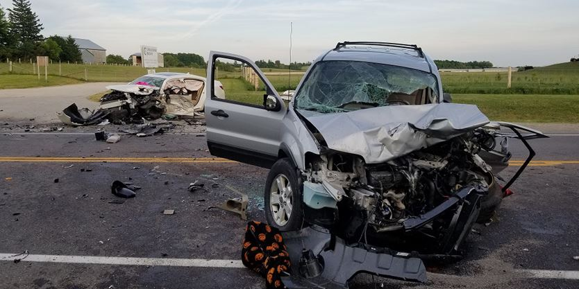 Guelph woman airlifted to trauma centre after Hwy 7 crash