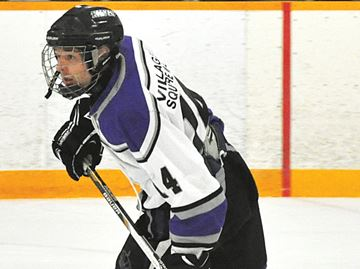 Matt Meher leading Penetang Kings on and off the ice