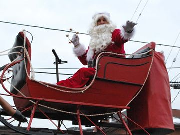 Tee off for Santa