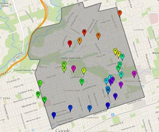 Ward 31 Beaches-East York voting locations