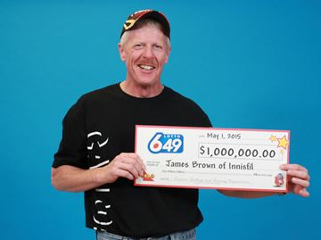 Innisfil's James Brown feels good about $1M LOTTO 6/49 win