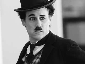 Lefroy's Charlie Chaplin  takes his show to India