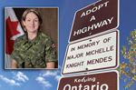 Major Michelle Knight Mendes