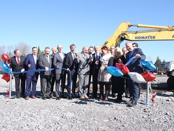 It's official - Casino breaks ground