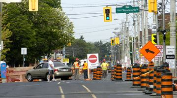 Concession Street reconstruction