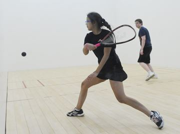 Provincial racquetball in Burlington