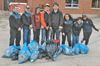 Cadets clean up