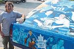 Customized Toronto Maple Leafs truck built in Alliston