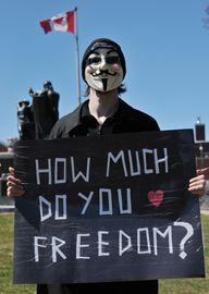 Bill C-51 Protest