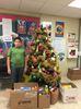 Students give during Christmas season