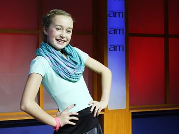 Mini Pop performer Mylie Taylor