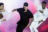 Bieber performs