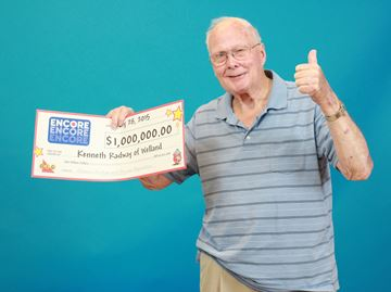 Welland man wins $1 million Encore prize