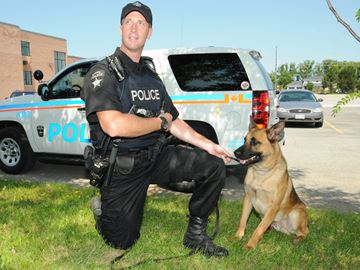 Barrie Police want you to name new police dog