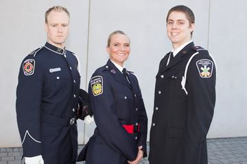 Three local emergency services workers hailed as 'public heroes'