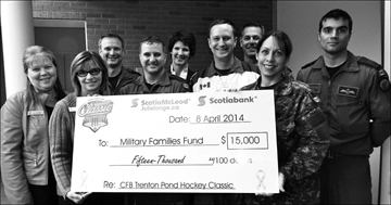 Pond Hockey scores for TMH Foundation– Image 1