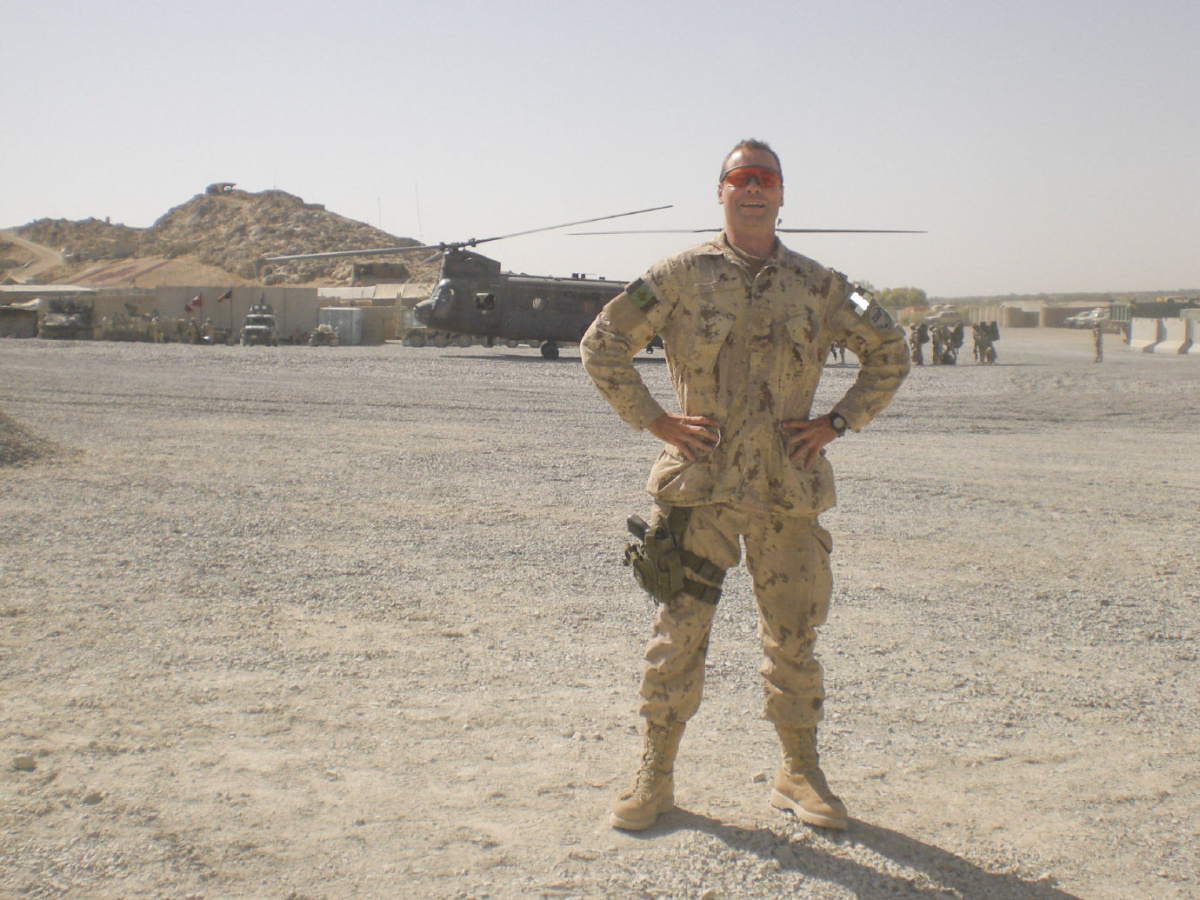 Afghan veteran Mark Buggy: 'I'm grateful to be alive' | TheSpec com