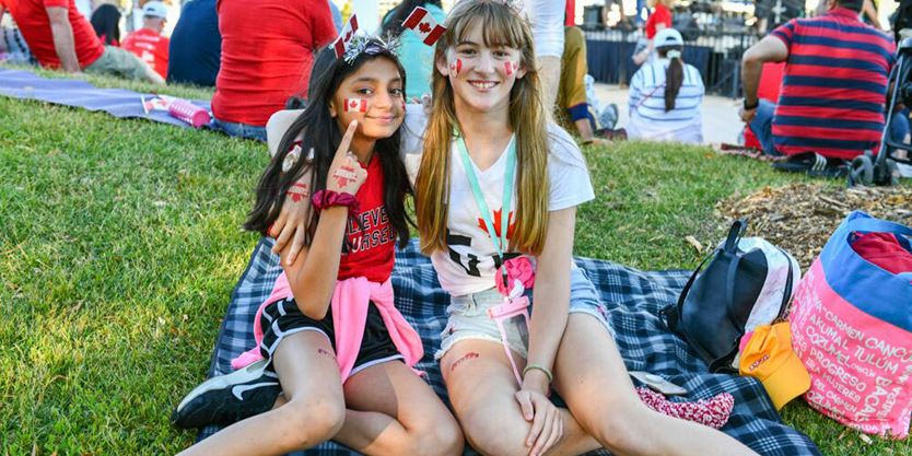 Halton residents celebrate Canada Day with pride