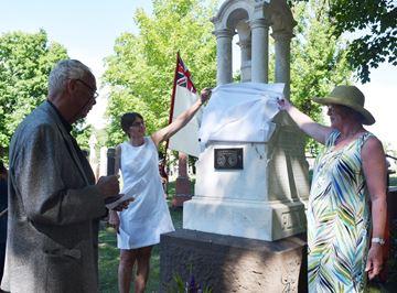 War of 1812 veteran gets graveside recognition