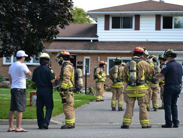 Firefighters put out kitchen fire in Barrie