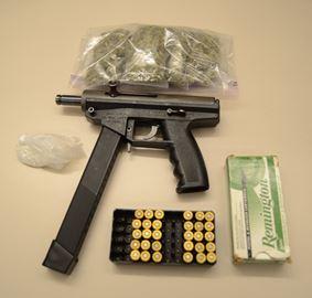 Weapon, ammunition seized