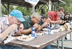 100 FS Rib eating contest-1