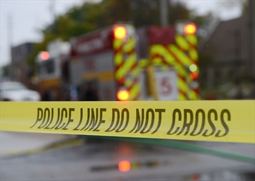 Firefighters were called to two separate blazes overnight