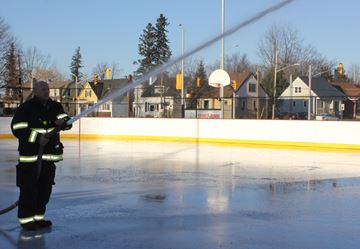 Rink to open Friday