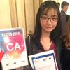Science fair prize winner