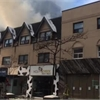Fire at Yonge and St. Clair