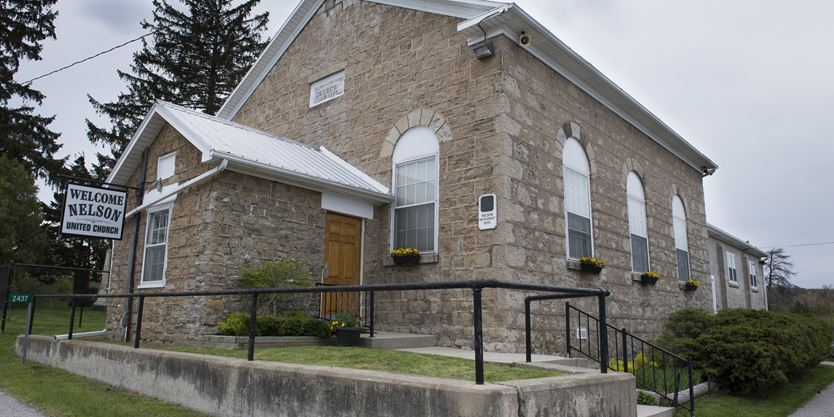 burlington 39 s nelson united church closing after more than 150 years. Black Bedroom Furniture Sets. Home Design Ideas