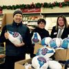 Providing a holiday feast for 60 local families