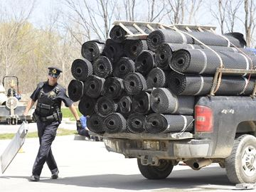 More than half of vehicles inspected fail road safety check in Burlington