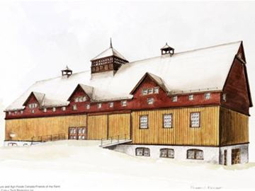 Friends of the Farm offering art during membership blitz