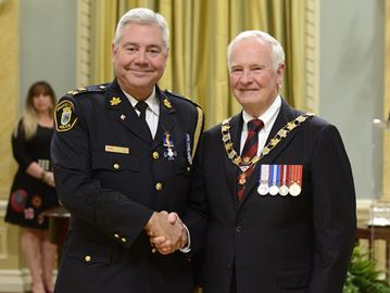 Orangeville's new police chief