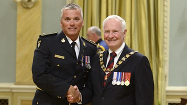 Well-known Arnprior-raised OPP officer receives Order of Merit– Image 1
